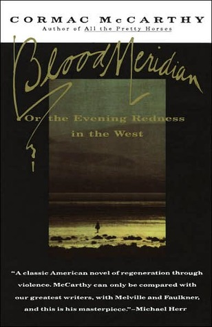 Widely considered McCarthy's greatest novel, Blood Meridian lays bare the naked truth about moral exeptionalism, whether it to be a man, a country, or a government.