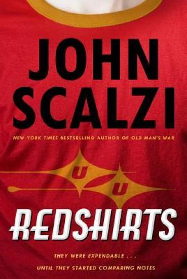 Redshirts Cover for Redshirts Review on Sci-Fi & Scary