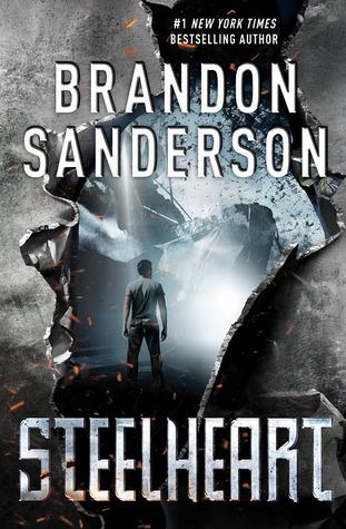 Steelheart by Brandon Sanderson ARC