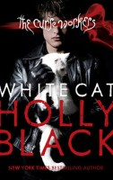 White Cat Holly Black