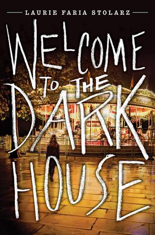 Welcome to the Dark House (Dark House, #1) book cover - for welcome to the dark house review on sci-fi & scary