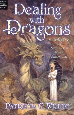 Dealing with Dragons by  Patricia C. Wrede | Featured Book of the Day | wearewordnerds.com