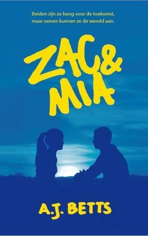 Zac en Mia Boek omslag