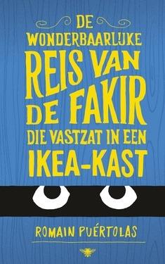 De wonderbaarlijke reis van de fakir die vastzat in een Ikea-kast Boek omslag