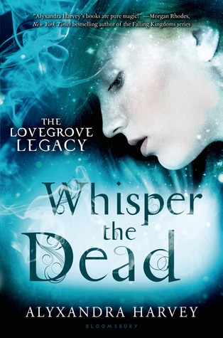 {Guest Post+Giveaway} Whisper of The Dead by Alyxandra Harvey @AlyxandraH