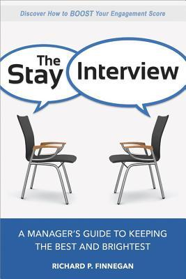 book cover for The Stay Interview