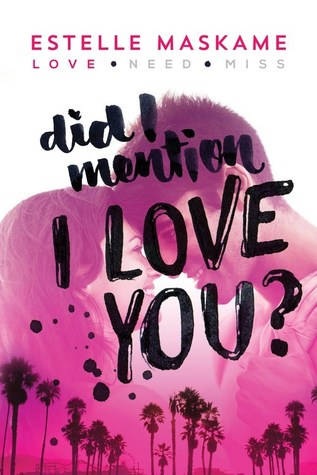 Did I Mention I Love You Book Cover