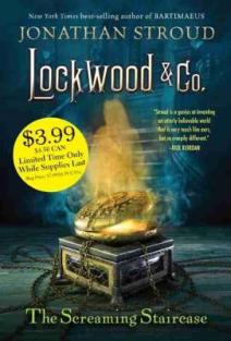 Lockwood & Co. The Screaming Staircase -TTT Books about Ghosts