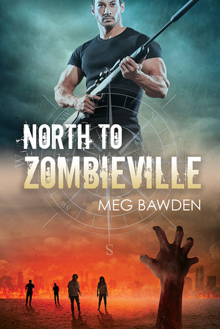 North to Zombieville by Meg Bawden | books, reading, book covers