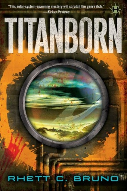 Book Cover of Titanborn - for Titanborn Review on Sci-Fi & Scary
