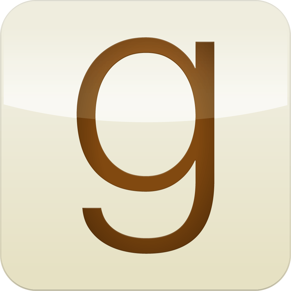 Image result for goodreads logo transparent
