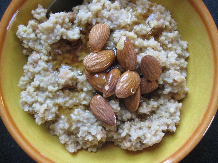 Meg's millet porridge