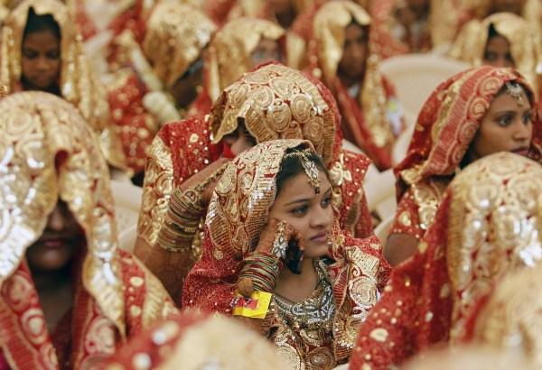 Muslim Mass Wedding Child Brides