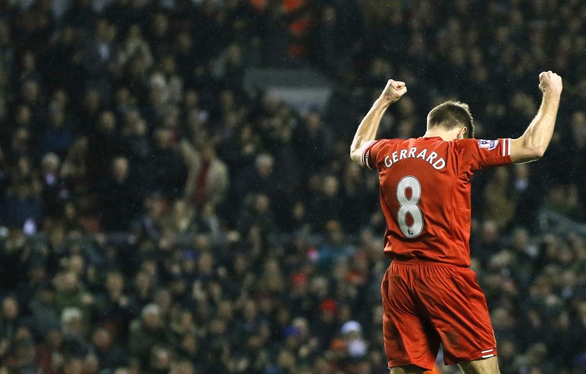 Former Liverpool Star Steven Gerrard Is Best Midfielder