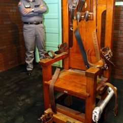 Florida Electric Chair Design Course Death Row Prisoners Who Deny Crimes Less Likely To Eat
