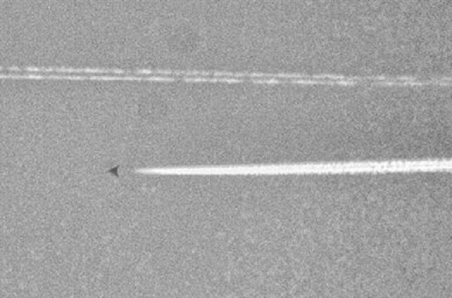 UFO Photographed Over Texas is 'Secret Military Plane'
