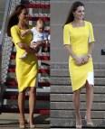Kate Middleton Honours Australia In Yellow Dress