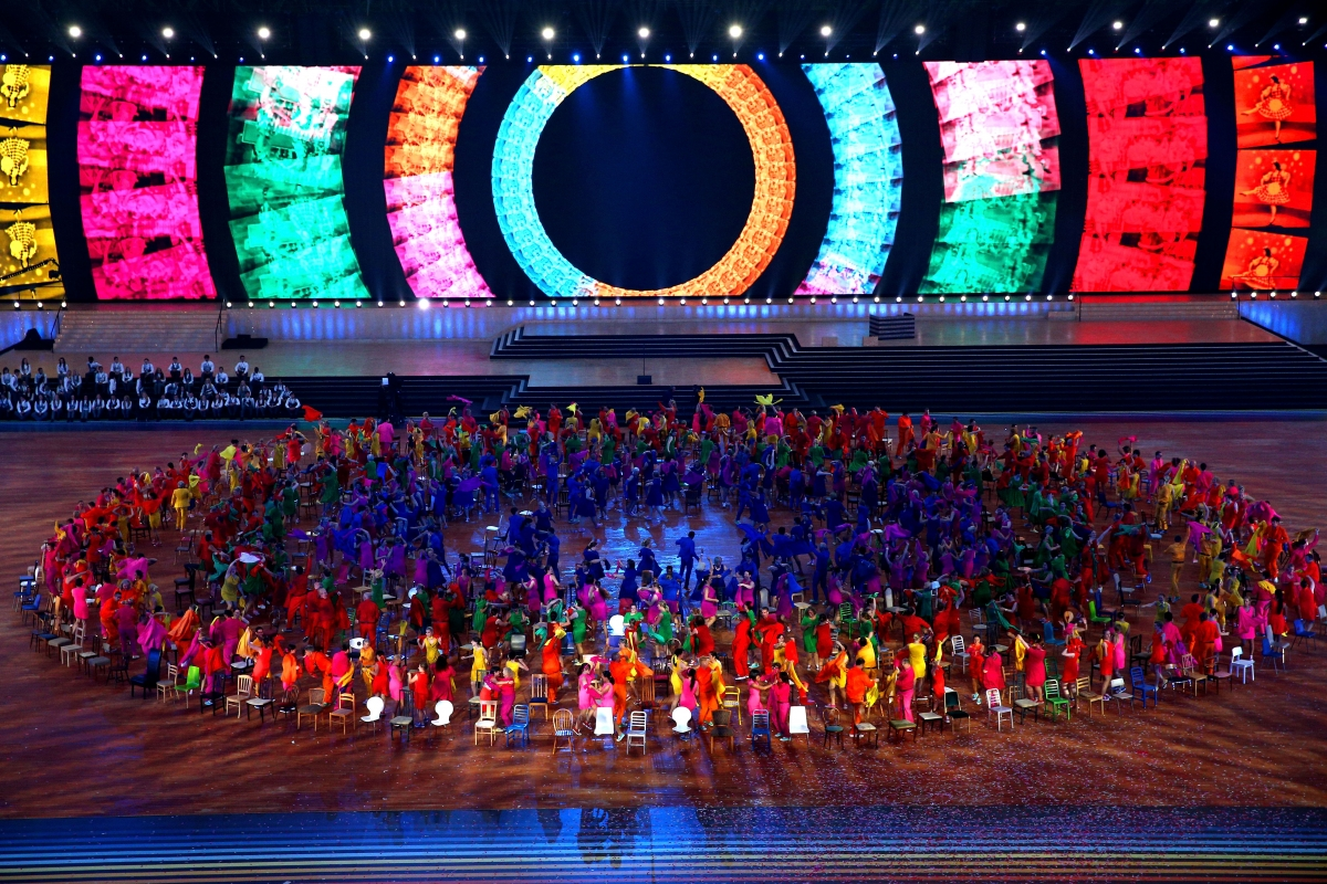 Glasgow 2014 Commonwealth Games Declared Open After Opening Ceremony