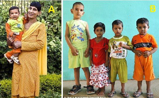 India: World's Tallest Toddler is 5 feet 7 Inches tall at the Age of 5