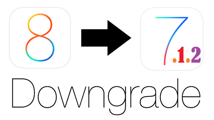 How to Downgrade iOS 8 to iOS 7.1.2 on iPhone, iPad or