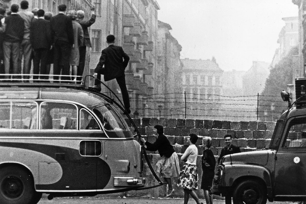 berlin wall 1961 to