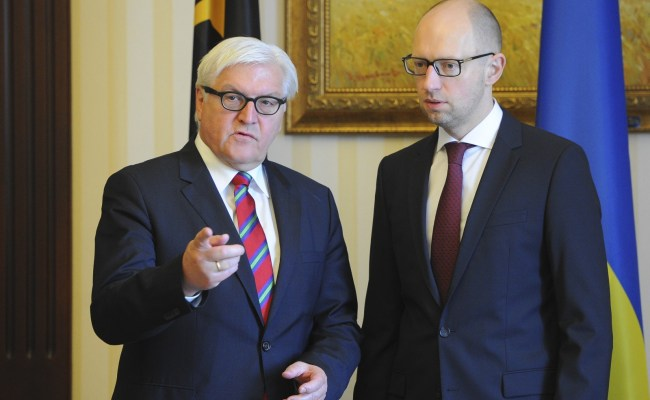 Ukraine Crisis German Fm Steinmeier Warns Moscow And Kiev