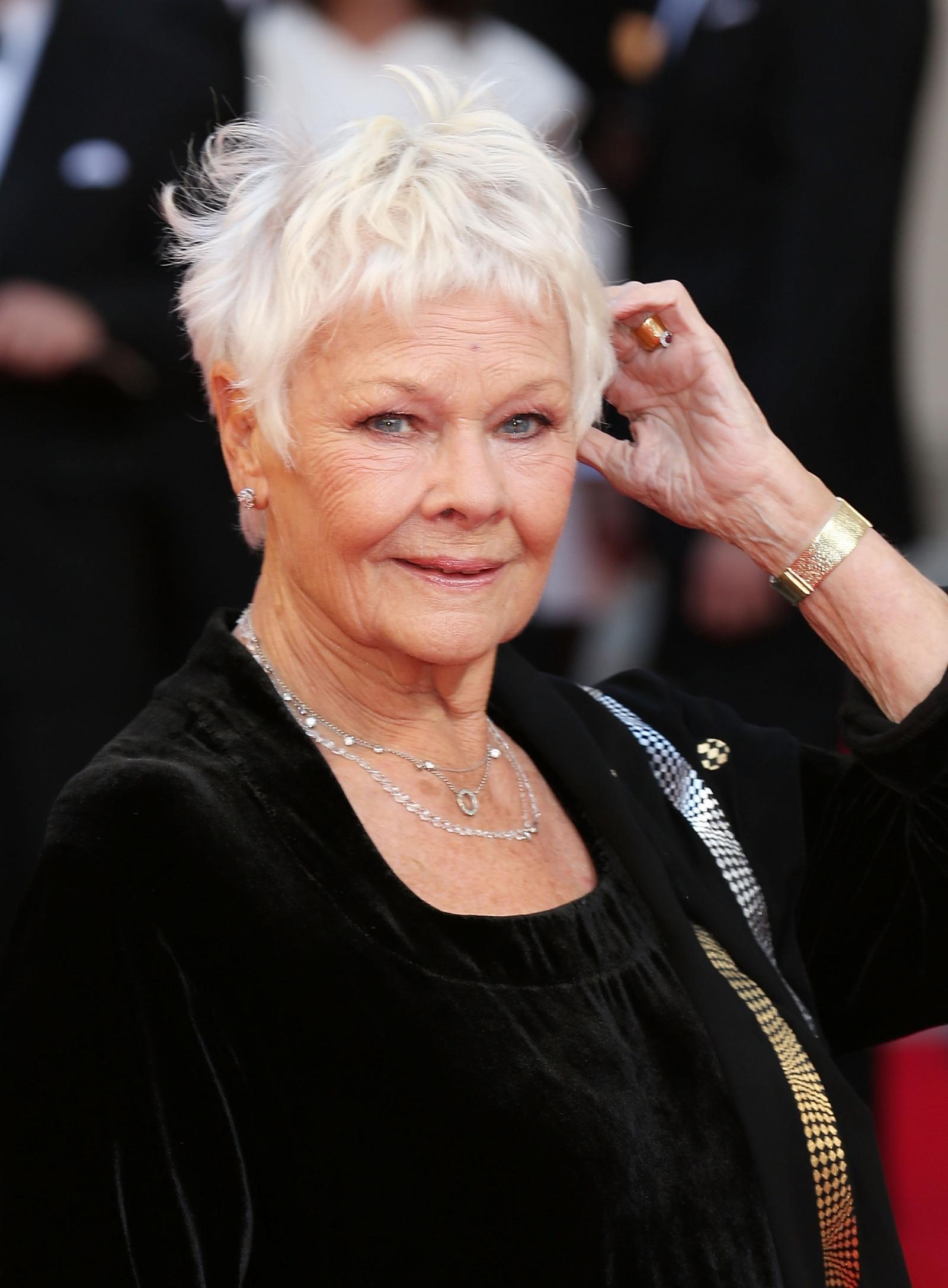 Dame Judi Dench Tattoo Bond Star Plans First Inking At 80