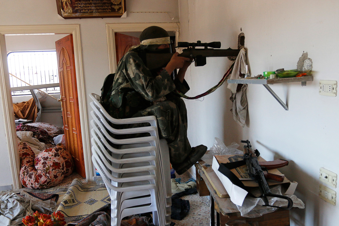 Syria Civilians living under the constant fear of sniper