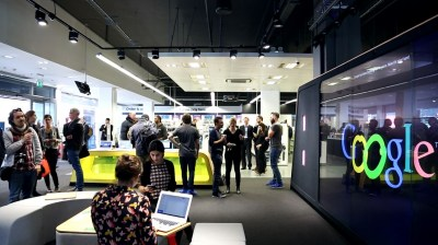 Google Opens In London Giant Takes Step Retail Stores