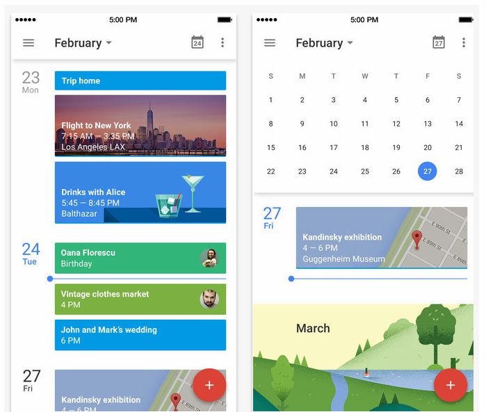Image Result For Google Calendar App Update