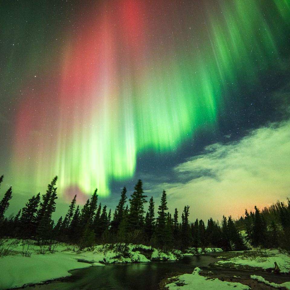 Time Northern Lights Tonight