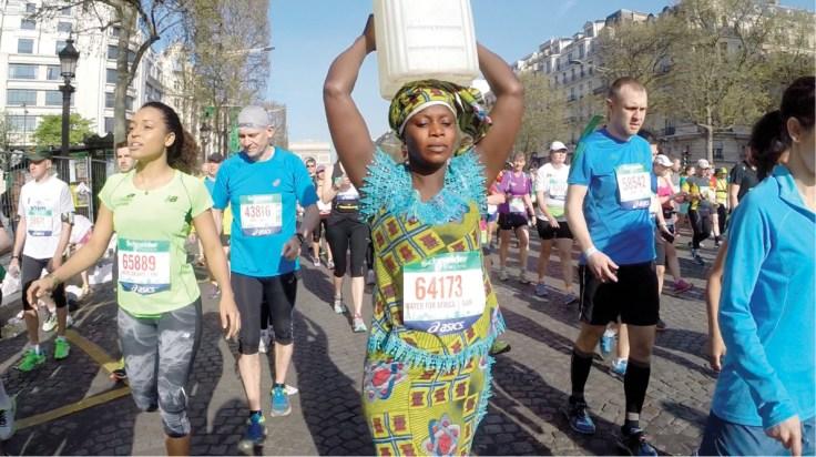 Siabatou Sanneh Paris Marathon