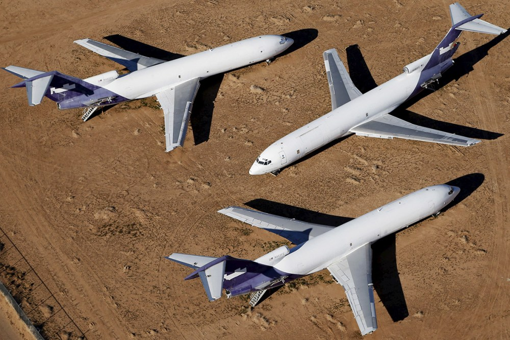 medium resolution of where do old jumbo jets go when they die the victorville aircraft graveyard in california photos