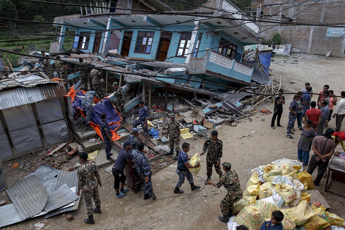 Nepal earthquake