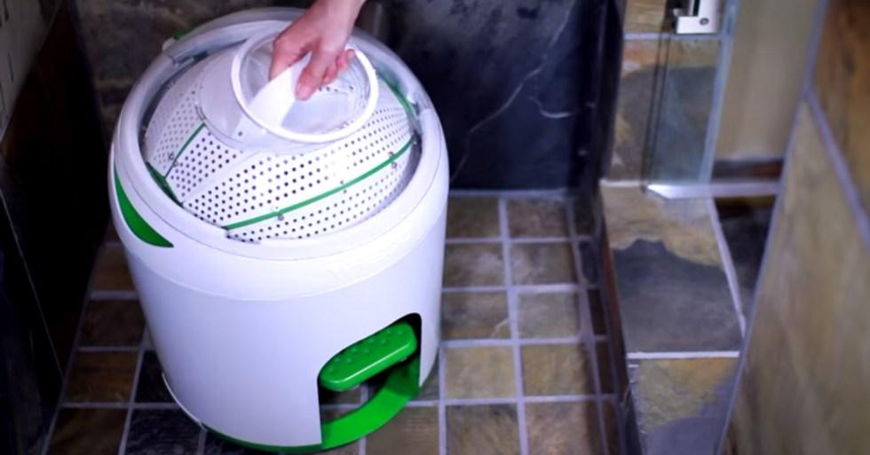 Washing Machine: Washing Machine Foot Powered