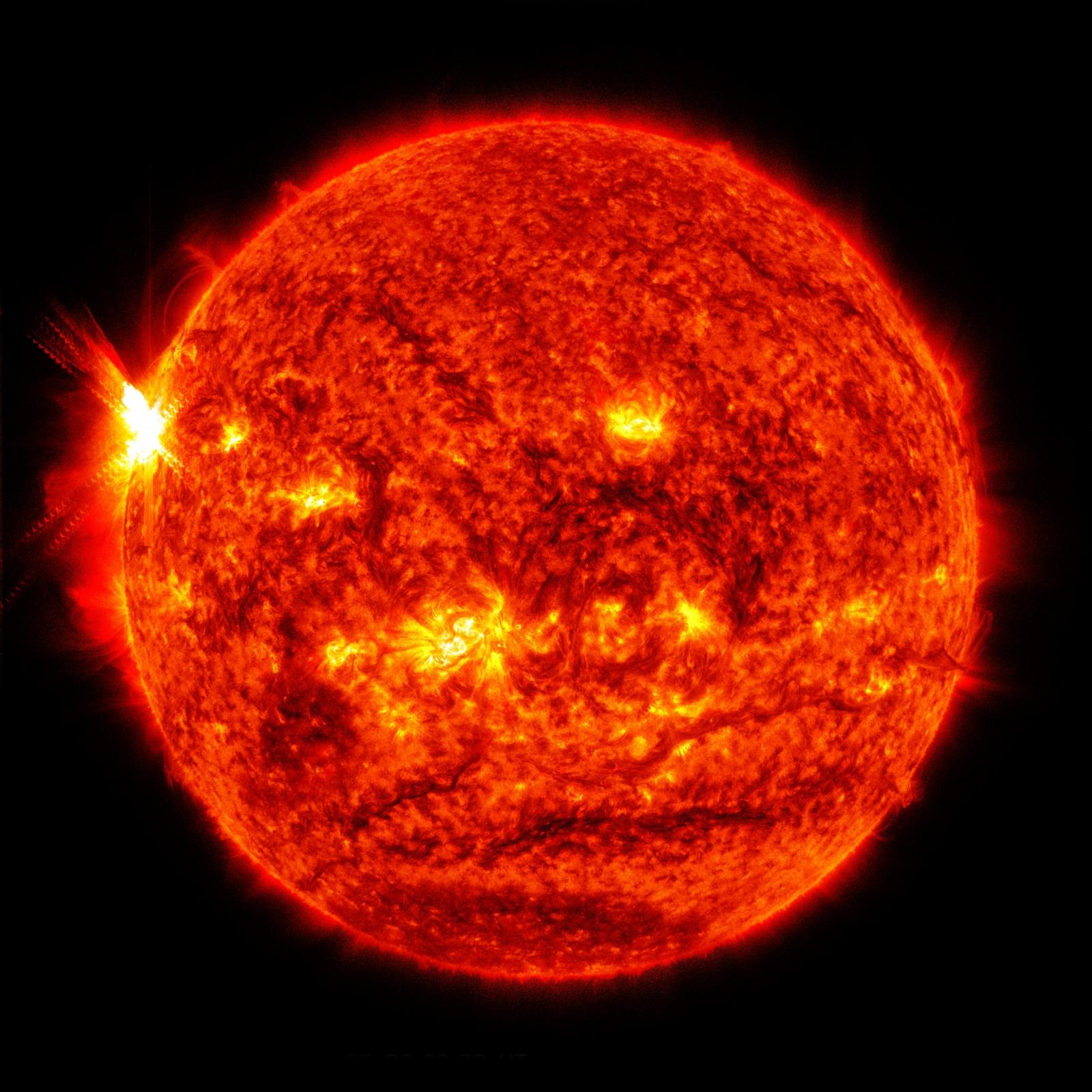 Sun Emits Massive X Class Cinco De Mayo Solar Flare