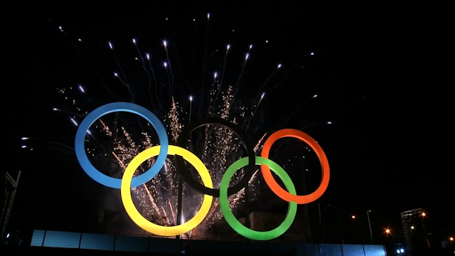 Rio 2016 Olympic Rings Unveiled In Madureira Park