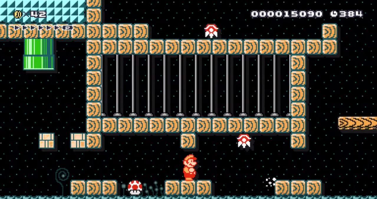 Super Mario Maker level brings Metroid to Wii U sort of