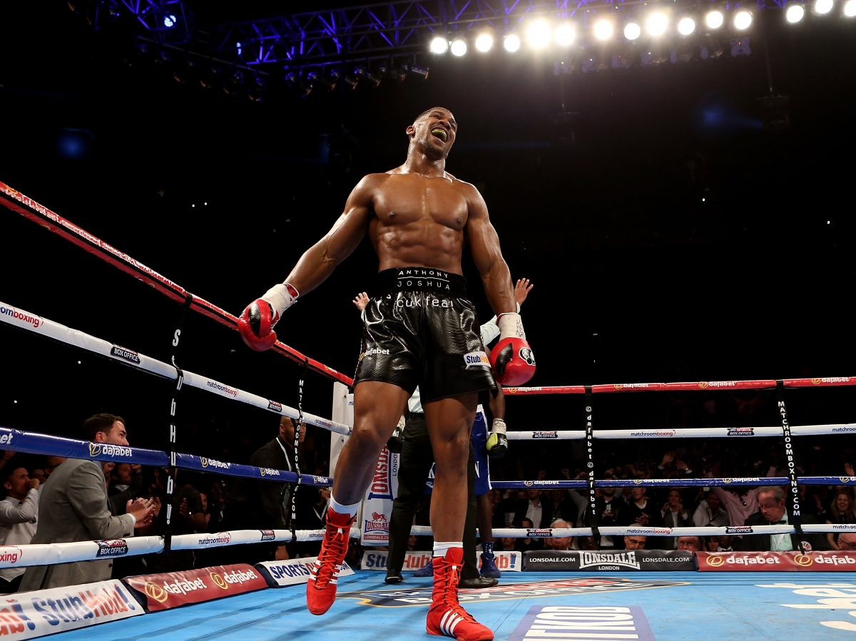 Boxing Ring Wallpaper Hd Anthony Joshua Vs Gary Cornish How To Watch Live Preview
