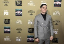 American Horror Story Hotel Star Evan Peters Emma