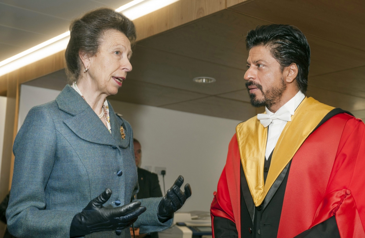 Image result for shahrukh khan princess anne