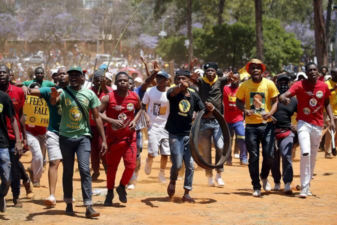 Sephetho sa setšoantšo sa fees must fall 2017