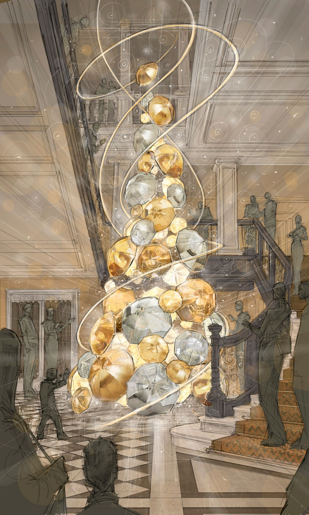 Which British Designer Is Decorating Claridges Christmas