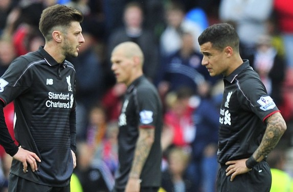 Image result for lallana and coutinho