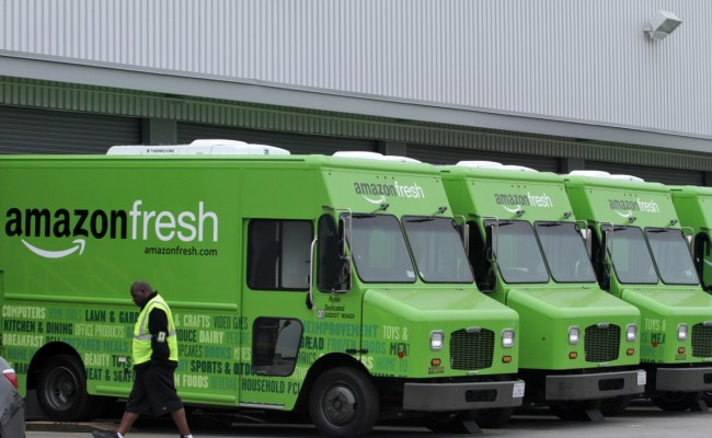 Amazon Launches Grocery Delivery Service In Uk Will