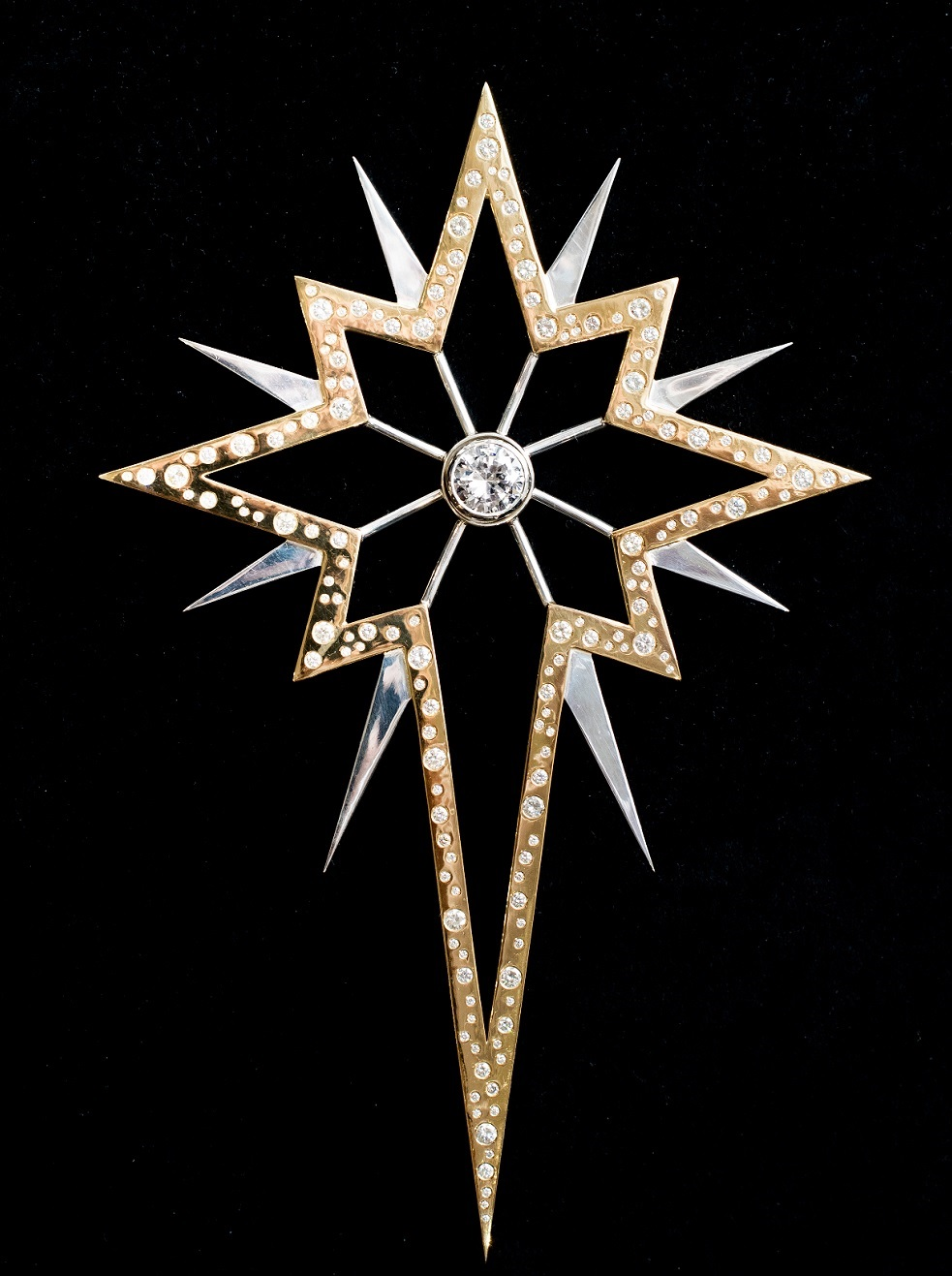Worlds most expensive Christmas tree star for sale at