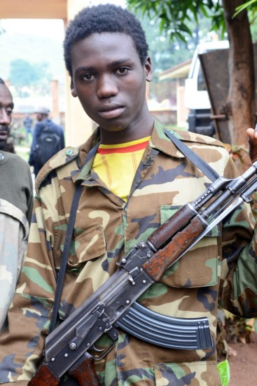 Seleka fighters in Central African Republic