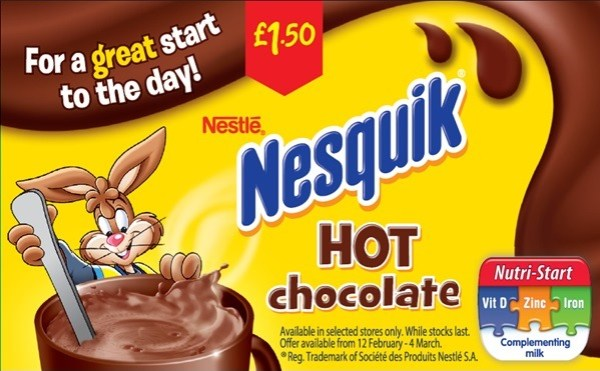 Nesquik bunny advert banned over its great start to the