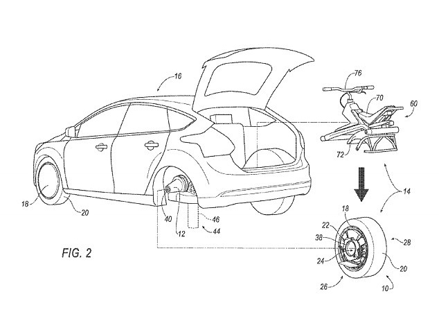 Ford patents 'Batmobile' rear wheel that transforms into