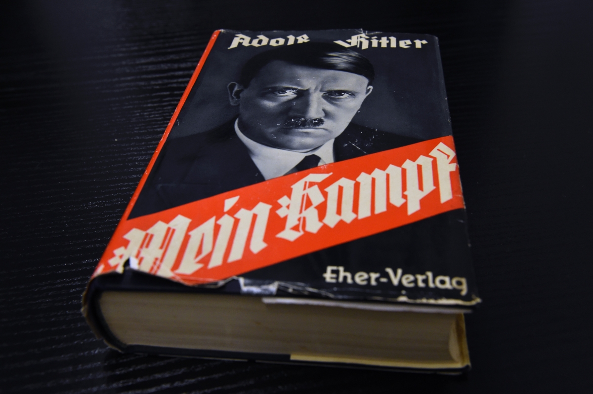Germany Opportunists sell new edition of Hitlers Mein Kampf for 685 as Nazi bible sells out